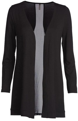Conquista Cardigan With Sheer Back