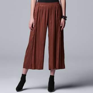 Vera Wang Women's Simply Vera Soft Crinkle Pants