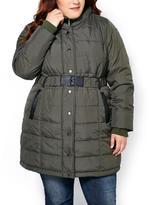 Penningtons Hooded Long Puffer Coat