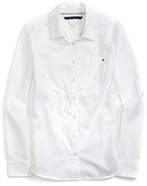 Tommy Hilfiger Long Sleeve Solid Oxford Shirt