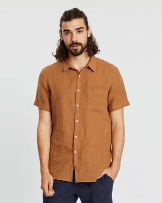 Aere SS Linen Shirt