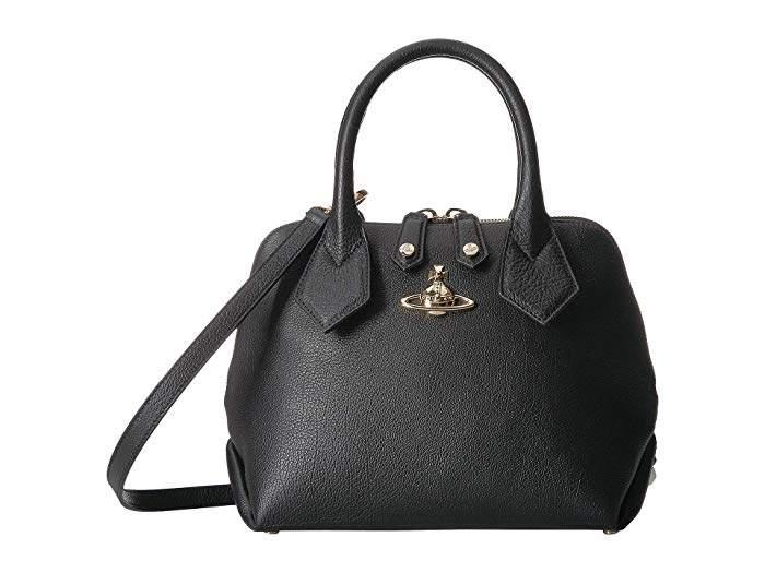 d14c3056683 Vivienne Westwood Black Top Handle Handbags - ShopStyle