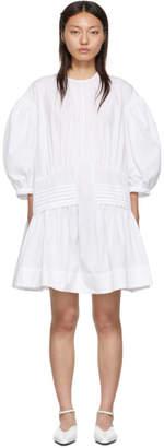 Simone Rocha White Smock Dress