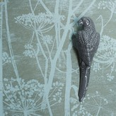 Graham and Green Grey Ceramic Parrot Wall Ornament