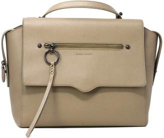 Rebecca Minkoff Messenger Leather Backpack