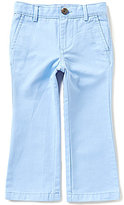 Class Club Little Boys 2T-7 Flat-Front Twill Pants