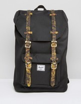 Herschel Little America Mid Volume Backpack with Tortoise Shell