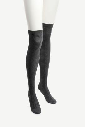 Ardene Over the Knee Argyle Socks