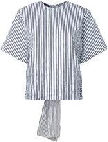 Eudon Choi striped T-shirt - women - Cotton/Linen/Flax/Polyamide/Polyester - 8