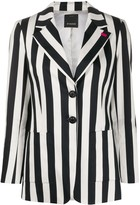 Pinko single breasted striped blazer