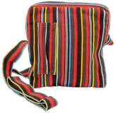 Colorful Striped Woven Shoulder Bag from Guatemala, 'Life in Color'