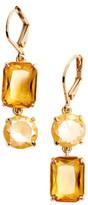 Kate Spade Women's Shine On Mismatched Drop Earrings