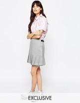 Asos Le Kilt for Hem Pleat Mini Kilt