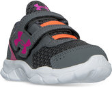 Under Armour Toddler Girls' Engage BL Velcro Running Sneakers from Finish Line