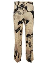 Dries Van Noten Powell Cropped Crepe Trousers