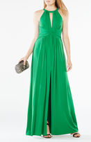 BCBGMAXAZRIA Christiana Cutout Jersey Gown