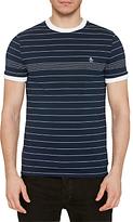 Original Penguin Engineered Fine Stripe T-shirt