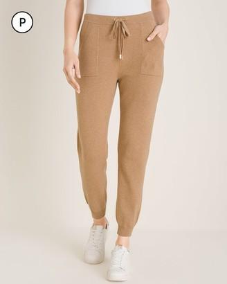 Zenergy Petite Cotton-Cashmere Blend Jogger Pants