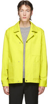 Acne Studios Yellow Twill Three-Pocket Chore Jacket