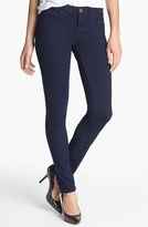 'Alexa' Midrise Skinny Jeans (Dark Shanty)