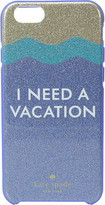 Kate Spade I Need a Vacation Glitter iPhone Case for iPhone 6