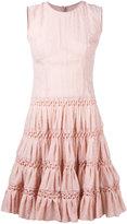 Ermanno Scervino sleeveless full skirt dress - women - Silk/Nylon - 40