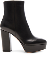 Gianvito Rossi Platform Leather Boots
