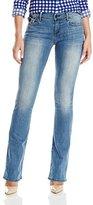 True Religion Women's Becca Mid-Rise Bootcut Jean
