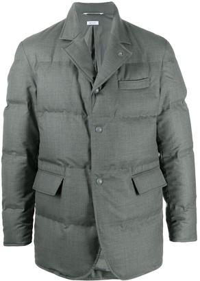 Thom Browne Long-Sleeve Padded Jacket