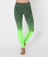 Electric Yoga Lime & Green Ombré Leggings