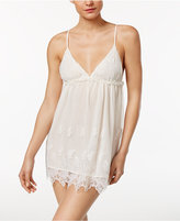 Flora by Flora Nikrooz Ophelia Embroidered Mesh Chemise