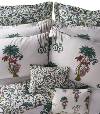 Emma J Shipley Jungle Palms Boudoir Pillowcase (30Cm X 40Cm)