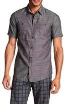 Burnside Short Sleeve Solid Woven Regular Fit Shirt