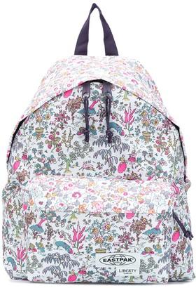 Eastpak Floral-Print Logo Backpack