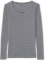 Petit Bateau Women's long-sleeved Colette striped T-shirt