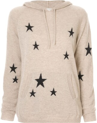 Chinti and Parker Star Knit Hoodie
