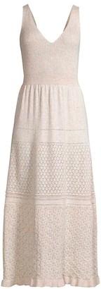 Rebecca Taylor Sleeveless Pointelle Dress