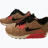 Nike 90 Beige Leather Trainers