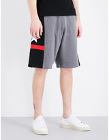 Givenchy Star-detailed Cotton-jersey Bermuda Shorts