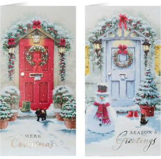 Tom Smith 20 Pack Luxury Christmas Cards