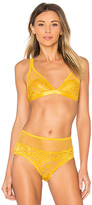 Lonely Lena Soft Cup Bra in Yellow