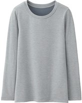 Uniqlo Kids Heattech Extra Warm Crewneck T-Shirt