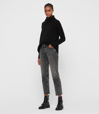 AllSaints Witby Roll Neck Cashmere Sweater