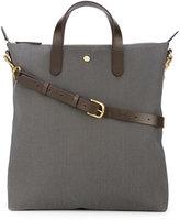 Mismo - detachable strap shopping bag - men - Leather/Nylon - One Size