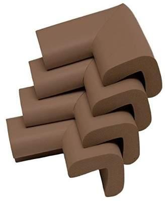 Safetots Premium Furniture Corner Cushions Brown