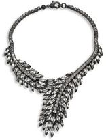 Erickson Beamon Frequent Flyer Crystal Leaf Necklace
