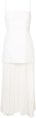 Dion Lee Mesh Pleat Long Dress