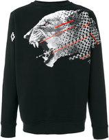 Marcelo Burlon County of Milan Sham Cotton Crewneck Sweater