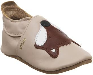 Bobux Soft Sole Crib Shoes Beige Fox