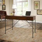 Kathy Ireland Home By Bush Furniture Ironworks Credenza Desk Home by Bush Furniture Color : Coastal Cherry